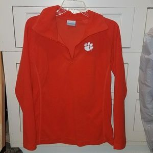 Columbia Clemson women's pullover large